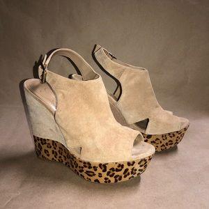 Jessica Simpson Size 8.5 B Claye Cheetah Heel NS1